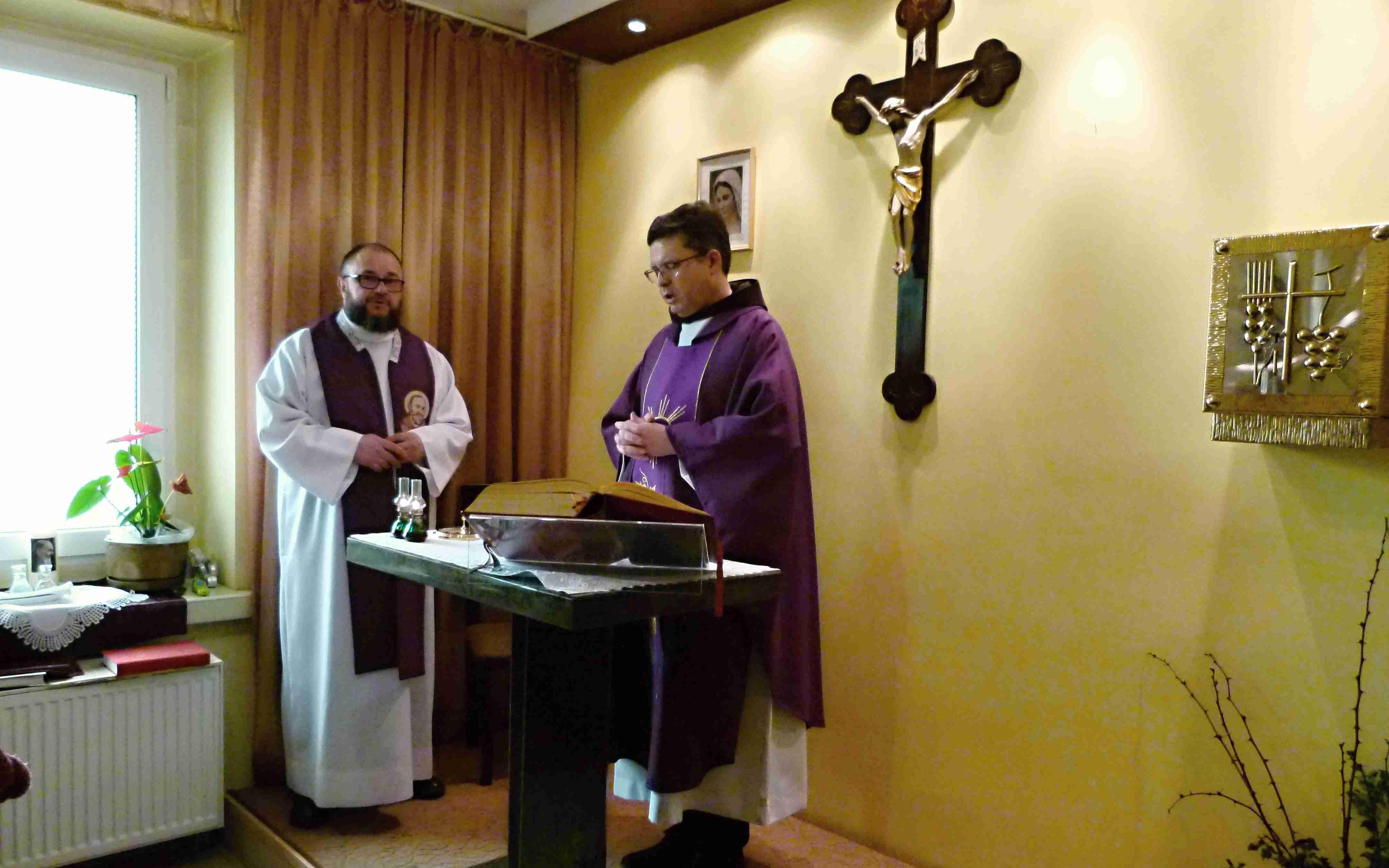 Msza św. Koncelebrowana w Kaplicy św. ojca Pio